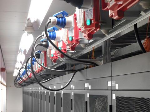 Electrical connection racks
