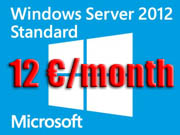 Rental Windows 2012 Server
